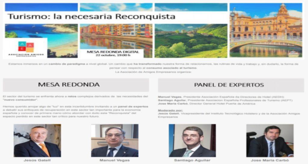 AEAE Turismo jornada webinar