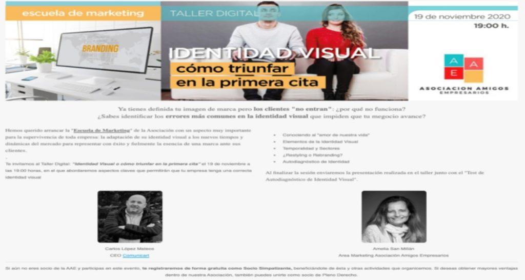 identidad visual COMUNICART AEAE