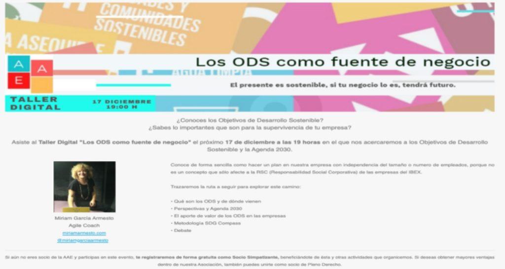 ODS webinar AEAE